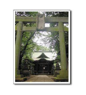 上石原若宮八幡神社とはけの緑