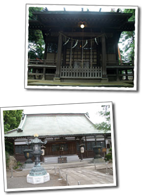 糟嶺神社と明照院