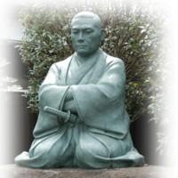 西光寺の近藤勇坐像