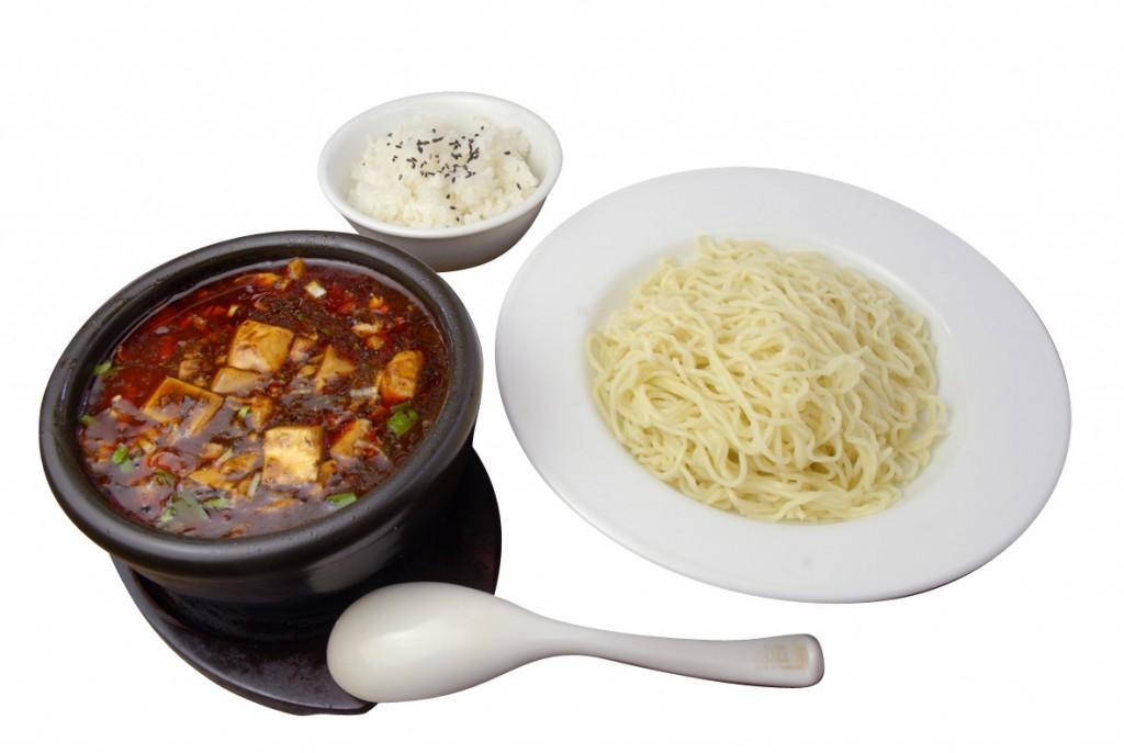 Oh!!辛チャレンジ「麒麟飯店」(調布市小島町3)の「四川麻婆つけ麺」(1,100円)