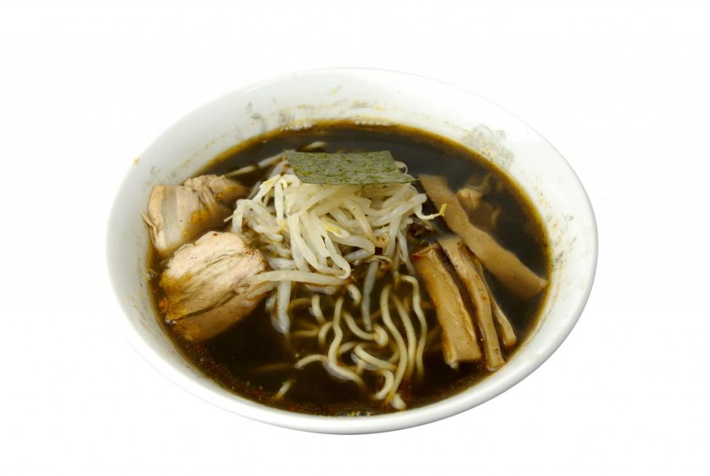 Oh!!辛チャレンジ「中華そば みのや」(調布市菊野台1)の「ブラック煮干し」(750円